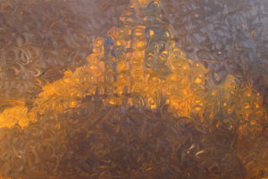 Cathedral, Russell Steven Powell oil on canvas, 36x24