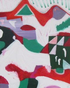 Season's Greetings 13 (1), Russell Steven Powell oil on canvas, 16x20