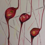 Winter Pods, 3 p.m., Russell Steven Powell oil on canvas, 24x30
