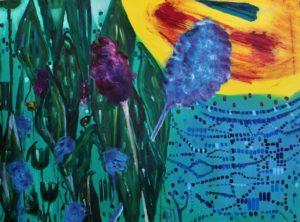 Garden 6, Russell Steven Powell oil on canvas, 30x40