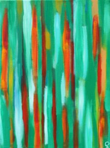 Florida Coast 14, Russell Steven Powell acrylic on canvas, 16x12