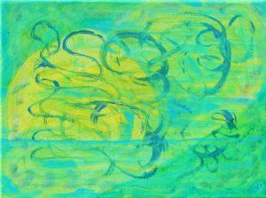 Florida Coast 15, Russell Steven Powell acrylic on canvas, 11x14