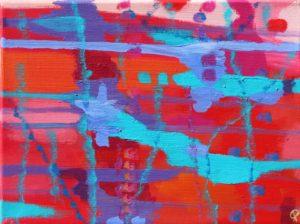 Florida Coast 2, Russell Steven Powell acrylic on canvas, 11x14