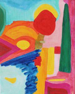 FL6, Russell Steven Powell acrylic on canvas, 16x20