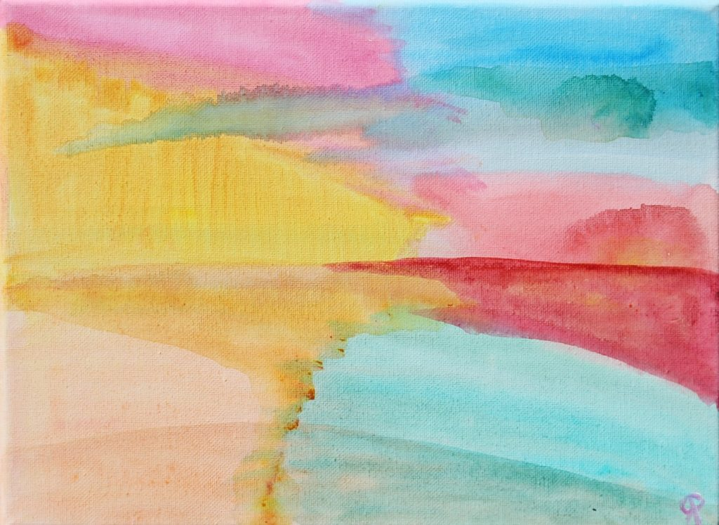 11 Florida18, Russell Steven Powell acrylic on canvas, 9x12