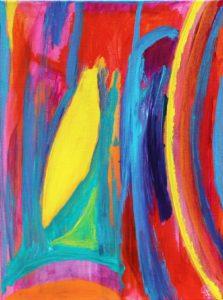 Florida Coast 34, Russell Steven Powell acrylic on canvas, 12x9