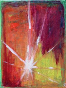 19 Florida18, Russell Steven Powell acrylic on canvas, 12x9