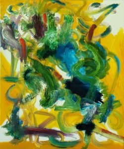 Abstract 25, Russell Steven Powell oil on canvas, 24x20