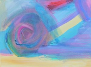AH 13, Russell Steven Powell acrylic on canvas, 9x12
