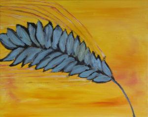 Seed Head, Sunset