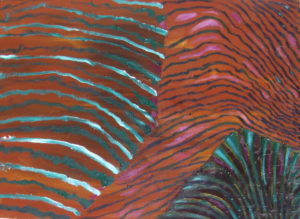 Potato Fields, Russell Steven Powell oil on canvas, 18x24