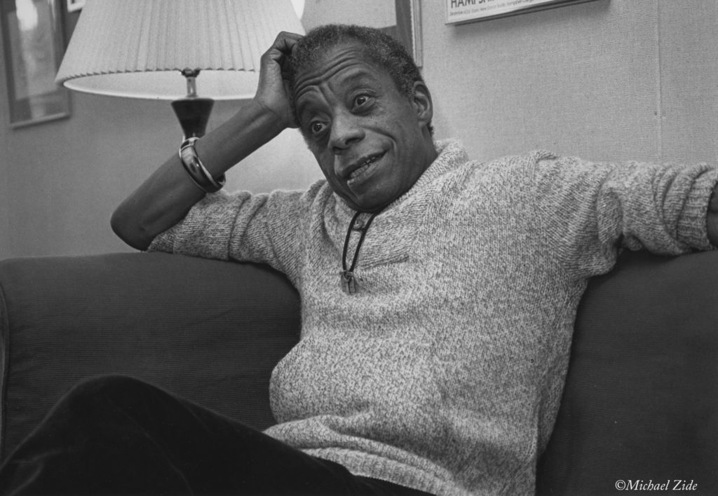 James Baldwin, Hampshire College, Amherst, Massachusetts, October 1983 (michaelzide.com)