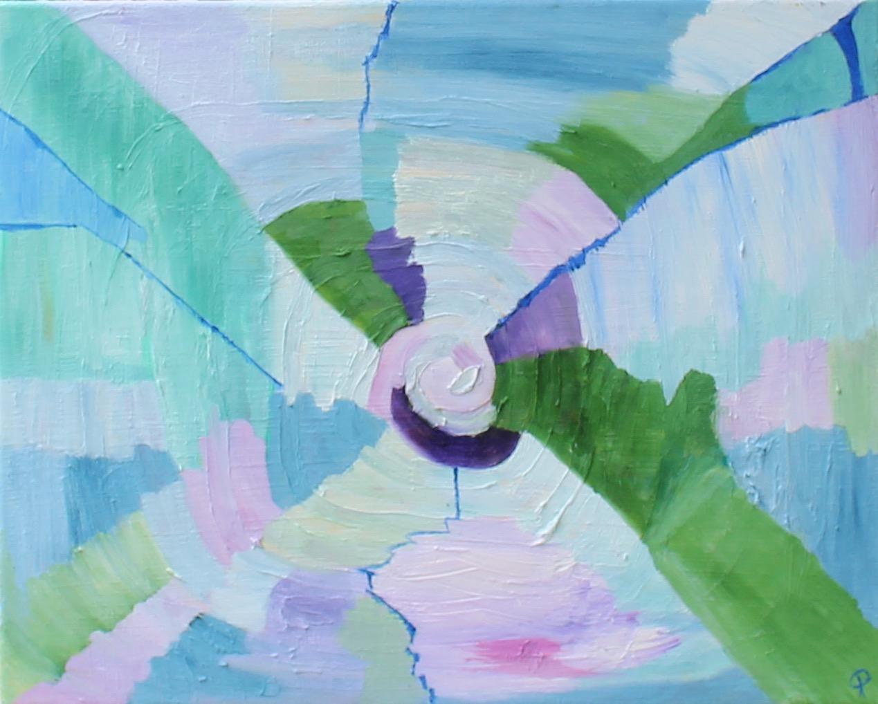 Eddy, Russell Steven Powell oil on canvas, 20x16