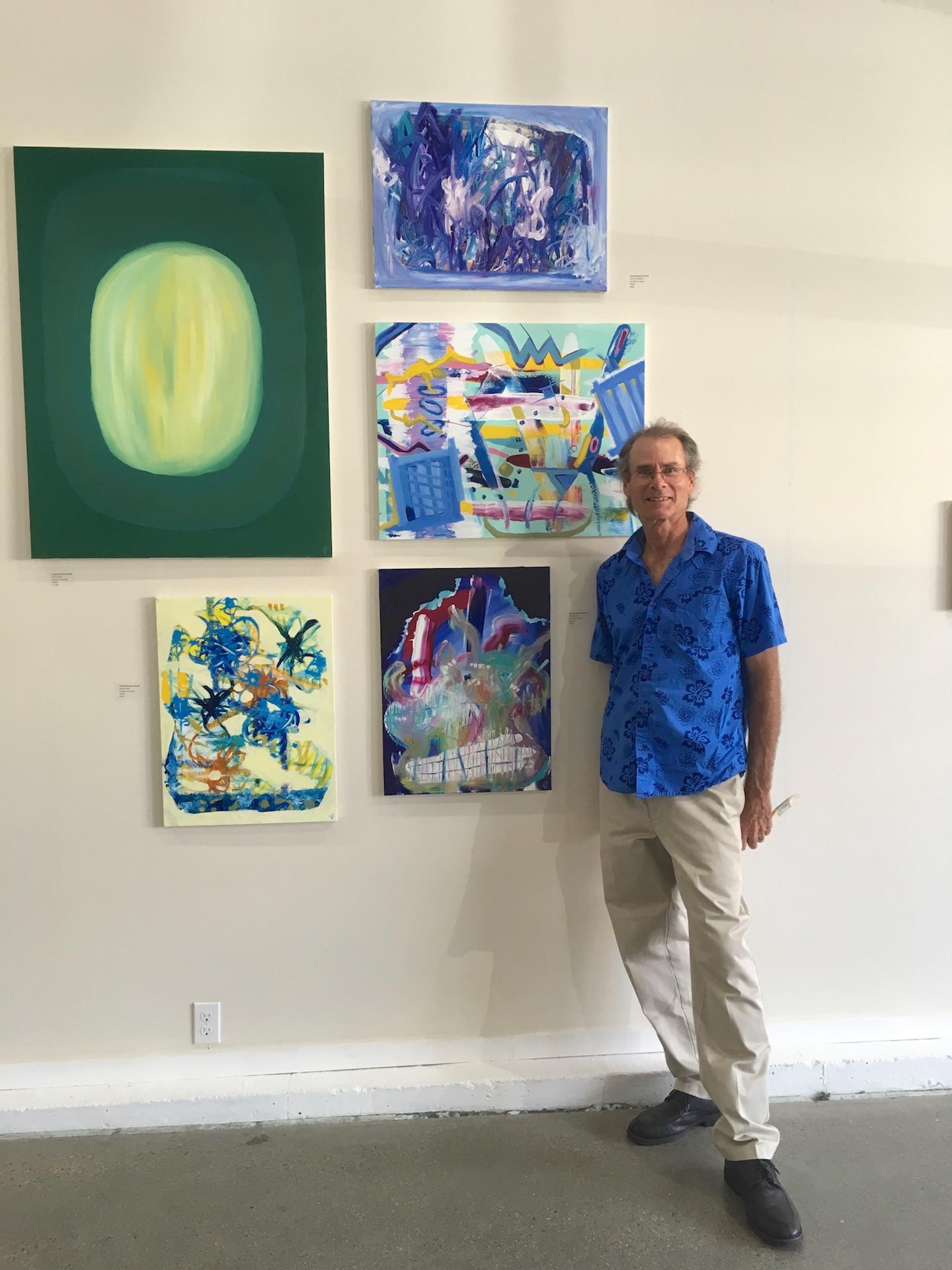 Russell Steven Powell at Jamestown Art Center, Jamestown, Rhode Island
