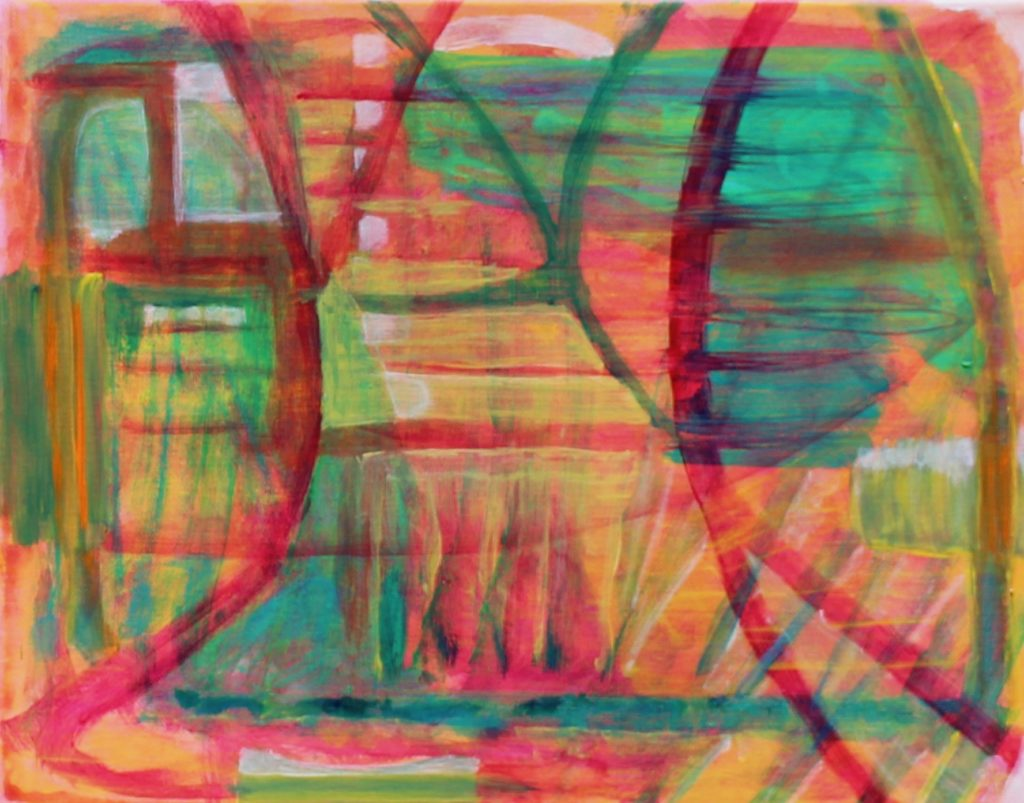 20 Florida18, Russell Steven Powell acrylic on canvas, 11x14