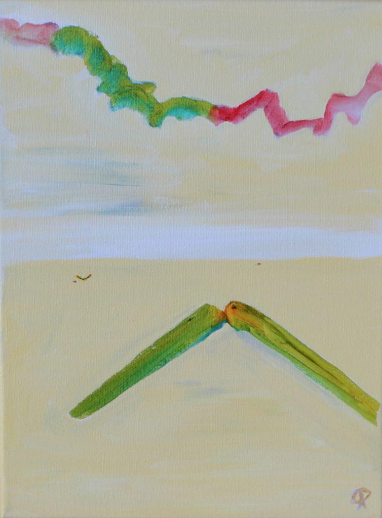 Thalassa 20, Russell Steven Powell acrylic on canvas, 12x9