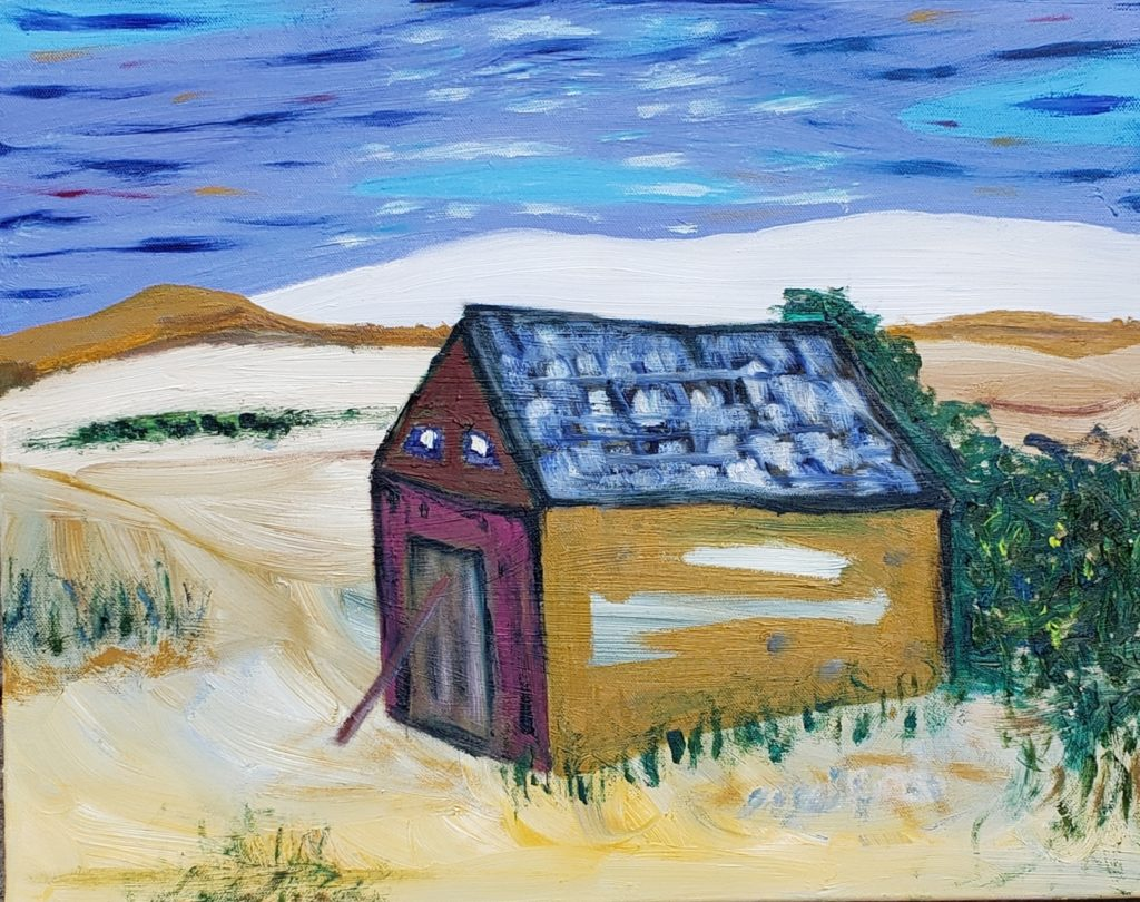 Dune Shack III, Russell Steven Powell oil on canvas, 16x20
